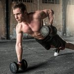 People, Man, Exercise, Fitness, Health, Gym, Dumbbell